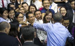 Công thức trở thành lãnh đạo của Obama truyền lửa cho thủ lĩnh trẻ Việt