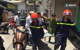 Cảnh sát khoan tường giải cứu kẻ nghi trộm cắp kẹt dưới cống