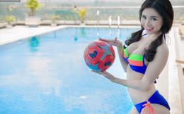 """Bạn gái Quang Lê tiêm """"doping"""" cho tuyển Pháp bằng ảnh nóng"""