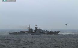 """Nga-Trung tập trận ở biển Đông là đòn """"tái cân bằng"""" của TQ?"""