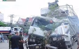 Đồng Nai: Xe tải tông sập nhà, dân bỏ chạy thoát thân