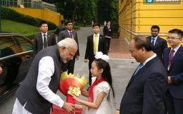 Điều đặc biệt trên Twitter của Thủ tướng Ấn Độ trong chuyến thăm VN
