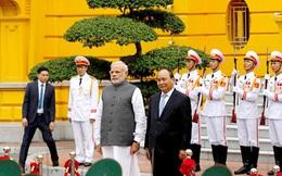 Quan hệ Việt Nam - Ấn Độ nâng cấp lên đối tác chiến lược toàn diện