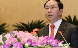 Chủ tịch nước Trần Đại Quang đề nghị miễn nhiệm 3 lãnh đạo cấp cao