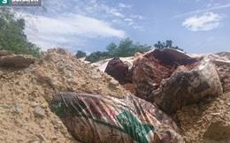 Công ty môi trường chôn hàng trăm tấn chất thải nghi độc hại