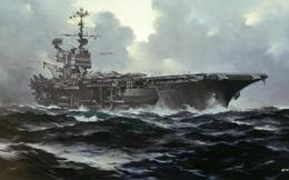 Pông-tông đứt neo ở Trường Sa và những vị khách không mời của hàng không mẫu hạm Mỹ
