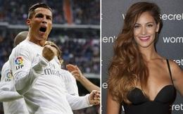Ronaldo tránh mặt bạn gái hoa hậu