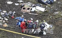 Rơi máy bay ở Colombia làm 71 người chết: Hộp đen tố lỗi phi công