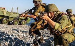 """Quân Assad yếu thế, lính thủy đánh bộ Nga lần đầu tiên phải trực tiếp """"ra tay"""" tại Syria"""