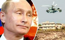 """Báo Anh: Phát hiện """"trực thăng tuyệt mật của Putin"""" trên bầu trời Syria"""