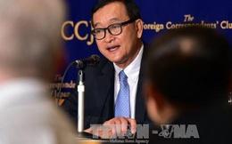 Tòa án Campuchia kết án ông Sam Rainsy tội phỉ báng