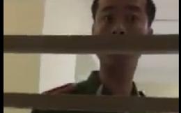 Tạm đình chỉ công tác trung úy công an bị tố nhổ nước bọt vào mặt cô gái