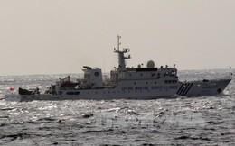 Tàu vũ trang Trung Quốc đi vào lãnh hải Nhật Bản