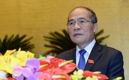 Ông Nguyễn Sinh Hùng nói gì trước khi QH tiến hành miễn nhiệm?
