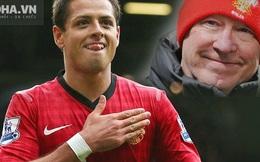 Chicharito và bí mật cảm động với Sir Alex Ferguson