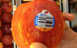 Ý nghĩa đằng sau những con số dán trên hoa quả nhập khẩu