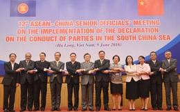 SOM 12 họp về Biển Đông: Lần đầu tiên trao đổi về đề cương COC