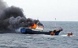 [Video] Tàu cá TQ trúng lựu đạn choáng của CSB Hàn Quốc, 3 người chết ngạt