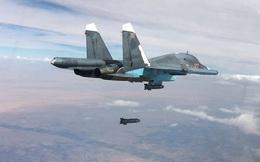 Su-34 đi ném bom chống lụt