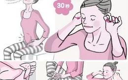 Mỗi ngày mát xa tai 30 giây: Bài tập giúp đẩy hết độc tố trong hệ tiêu hóa