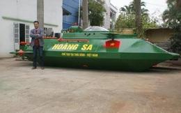 Tàu ngầm Hoàng Sa đã thành công sau khi thử nghiệm trên biển