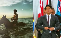 """Hoàng tử """"soái ca"""" đến từ Brunei: Đẹp trai, chuẩn 6 múi và tài sản 20 tỉ đô"""