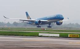 Hàng không quốc gia Vietnam Airlines đón nhận máy bay Airbus A350 thứ 5
