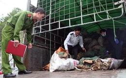 Hơn 6 tấn xương động vật hôi thối chuẩn bị vào Hà Nội