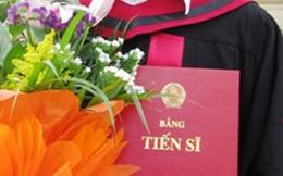 Chi phí cho một tấm bằng tiến sỹ ở Việt Nam