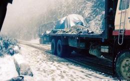 Tuyết đã phủ trắng nhiều nơi ở Nghệ An