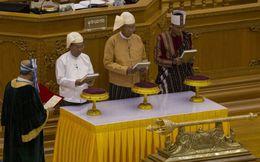 Ông Htin Kyaw tuyên thệ nhậm chức tổng thống Myanmar