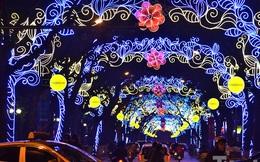 Đường phố Thủ đô lung linh ánh đèn đón chào năm mới