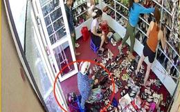 """Clip nữ """"đạo chích"""" trộm liên hoàn các shop quần áo ở Nghệ An"""