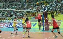 Đội tuyển bóng chuyền nữ Việt Nam đánh bại tuyển Indonesia