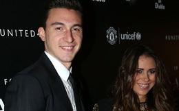 """""""Trai đẹp"""" của Man Utd đính hôn với bạn gái xinh đẹp"""