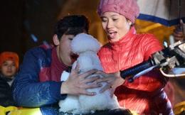 ẢNH: Nửa đêm ngắm tuyết rơi trắng Sapa