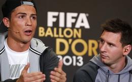 Messi, Ronaldo đang làm gì thế kia?