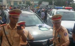 Công an Đồng Nai lên tiếng vụ cẩu cả xe và nữ tài xế về trạm
