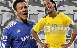 """Ronaldinho, Terry bắt tay cầm đầu đội quân """"khỉ gió"""""""