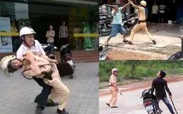 Nổ súng trấn áp đối tượng truy nã rượt chém cảnh sát giao thông