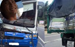 Clip mô phỏng: Tài xế dũng cảm cứu xe khách mất phanh khi đổ đèo Bảo Lộc