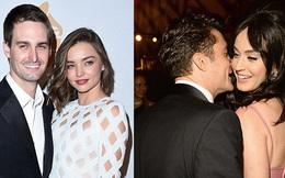 Miranda Kerr và hôn phu xem Orlando Bloom - Katy Perry như người một nhà