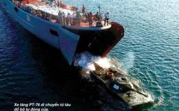 """Lữ đoàn Hải quân đánh bộ 147: """"Quả đấm thép"""" của HQVN trang bị nhiều vũ khí hiện đại"""