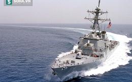 """Biển Đông: Chiến hạm Mỹ vào Hoàng Sa không báo trước, Trung Quốc bất ngờ và """"giãy nảy"""""""