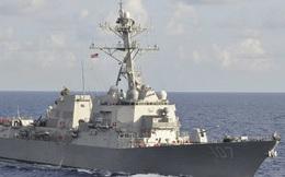 Tàu Hải quân Mỹ 3 phát súng cảnh cáo khi bị tàu Iran tiếp cận