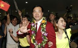 Hoàng Xuân Vinh phá kỷ lục tiền thưởng