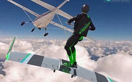 """Thiết bị """"khủng"""" cho phép con người lướt trên mây trời"""