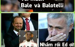 Ảnh chế: Man United mua nhầm, Mourinho không hề muốn Eric Bailly