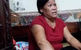 """Vợ người lái xích lô vụ """"tôn cứa cổ"""" rơi nước mắt, mong ngày chồng được tại ngoại về nhà"""