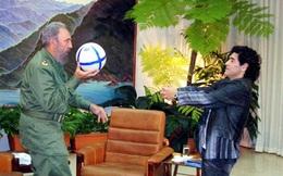 Xúc động với tâm thư của Diego Maradona gửi lãnh tụ Fidel Castro